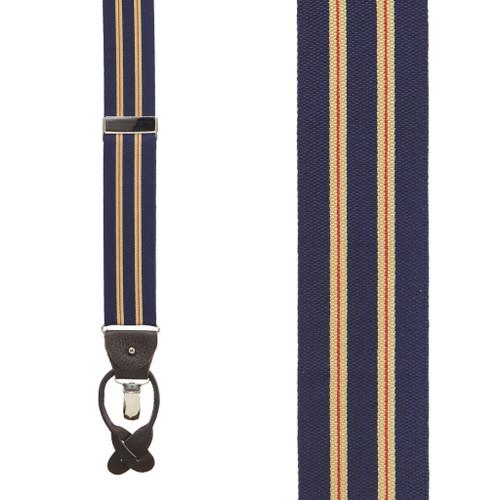SuspenderStore Mens US Navy Military Suspenders