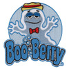 General Mills Boo Berry Ghost Cereal Monster Patch Embroidered Iron On Applique