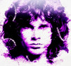 Lizard King by Derek Royal Jim Morrison The Doors Canvas Giclee Art Print