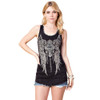 Vocal Apparel Cross and Wings Tank Top front view