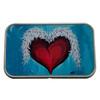 Heart Wings Rectangle Metal Storage Tin Stash Box
