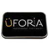 Uforia Tin Storage Box Black