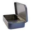 Metal Tin Storage Box side view