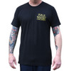 Rise Above men's tee shirt front view