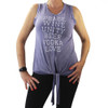 Wanderlux Peace Love Tank Top front view