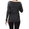 Vocal Apparel Black Long Sleeve Shirt  back view
