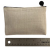 Small Cosmetic Bag size chart