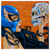 Mike Bell Mascara De La Muerte Canvas Giclee