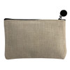 Small Cosmetic Bag back view
