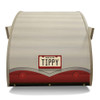 Wood Retro Shasta Trailer Pet Bed back view