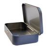 Metal Tin Storage Stash Box side view