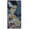 Bride Ink by Mike Bell Canvas Giclee