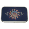 Tribal Moon and Sun Small Metal Tin Storage Box