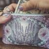 PAPAYA Coin Purse Wallet Henna front view