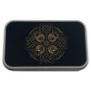 Celtic Cross Metal Tin Storage Box
