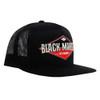 Diamond Black Market Art Snap Back Trucker Hat side view