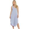 Z Supply Lavender Grey Cotton Midi Dress