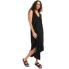 Z SUPPLY Black Reverie Midi Dress side view