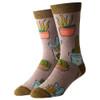 Cactus Hugs Men's Crew Socks