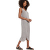 Z Supply Reverie Knot Triblend Dress Heather Grey side view
