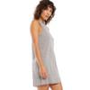 Z Supply Lex Heather Grey Triblend Mini Dress side view