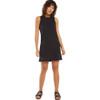 Z Supply Lex Black Triblend Mini Dress