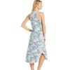 Z Supply Camo Reverie Midi Dress back view