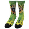 Merge4 Sublime Sun Crew Socks front view