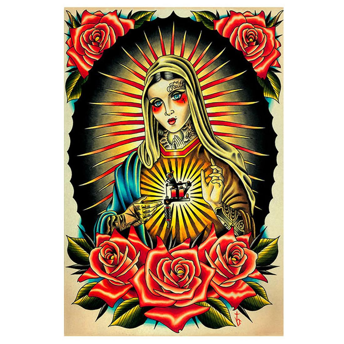 Faith Mary by Tyler Bredeweg Art Print