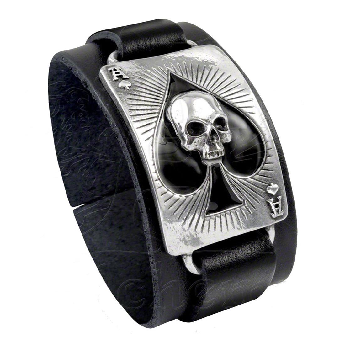 ULA1 - Ace Of Dead Spades Bracelet