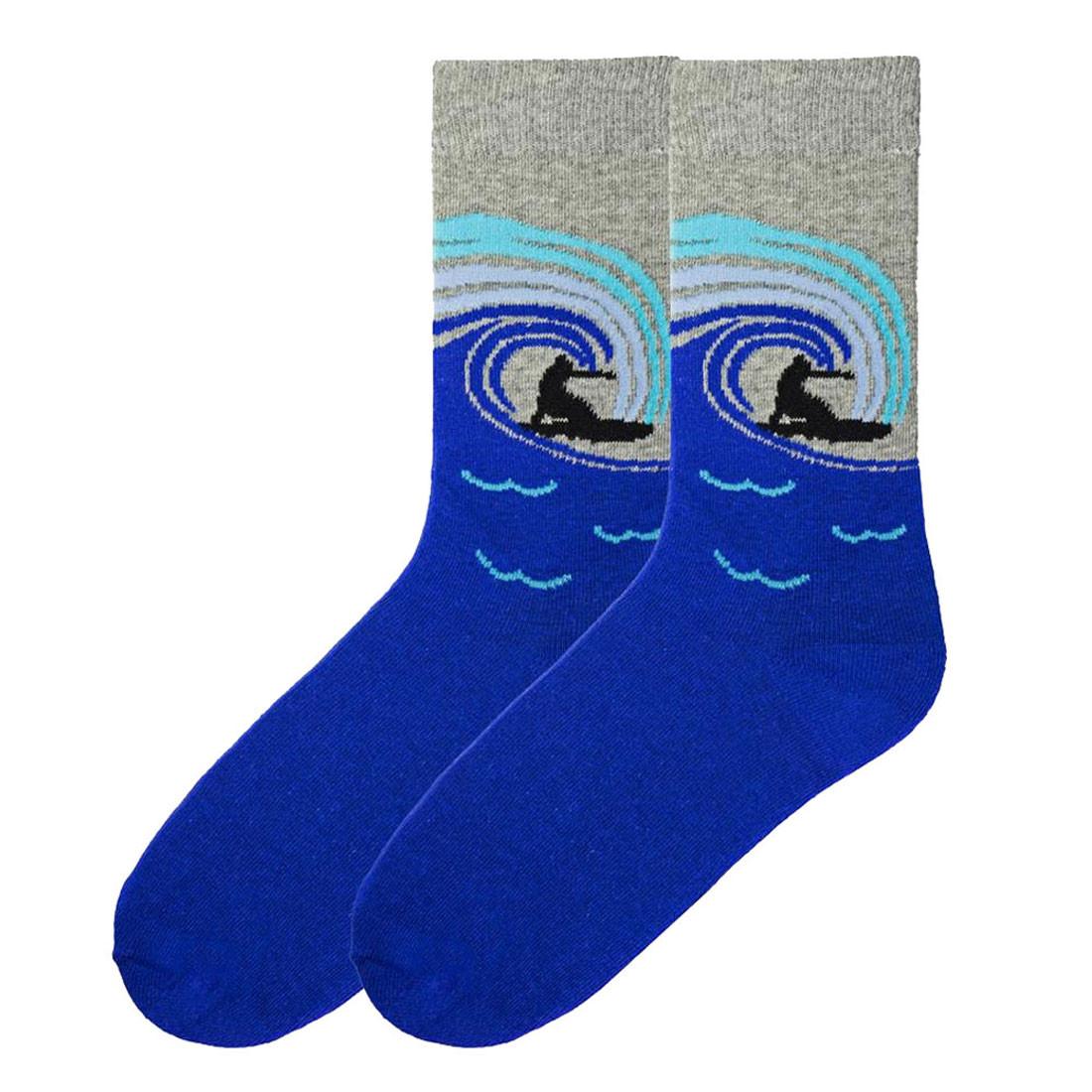 Men's Surf's Up Crew Socks