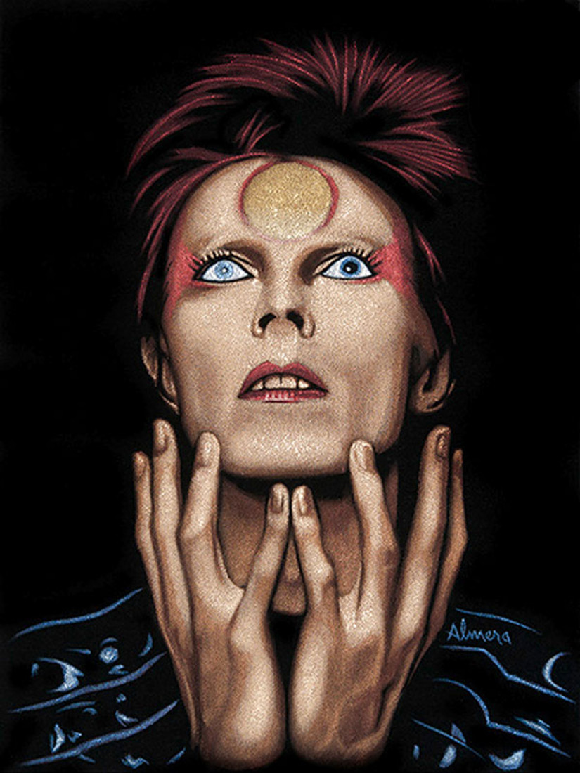 Marco Almera Space Oddity Canvas Giclee