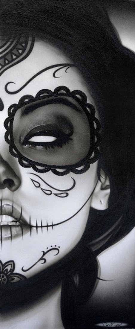 Daniel Esparza Canvas Giclee - Sophia La Muerta
