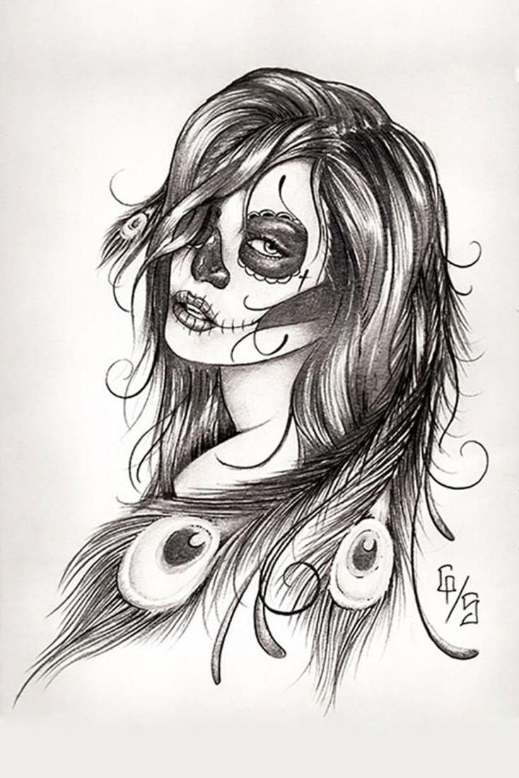 Gary Shepherd - Dead Feathers - Fine Art Print
