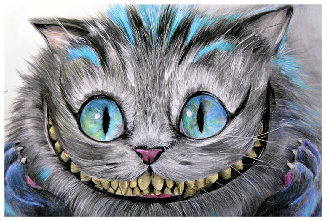 Cheshire Cat by Manuela Lai Fine Art Print Alice in Wonderland