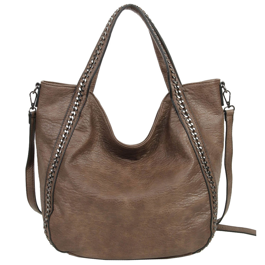 The Daphne Brown Purse Bohemian Tote Crossbody Shoulder Bag