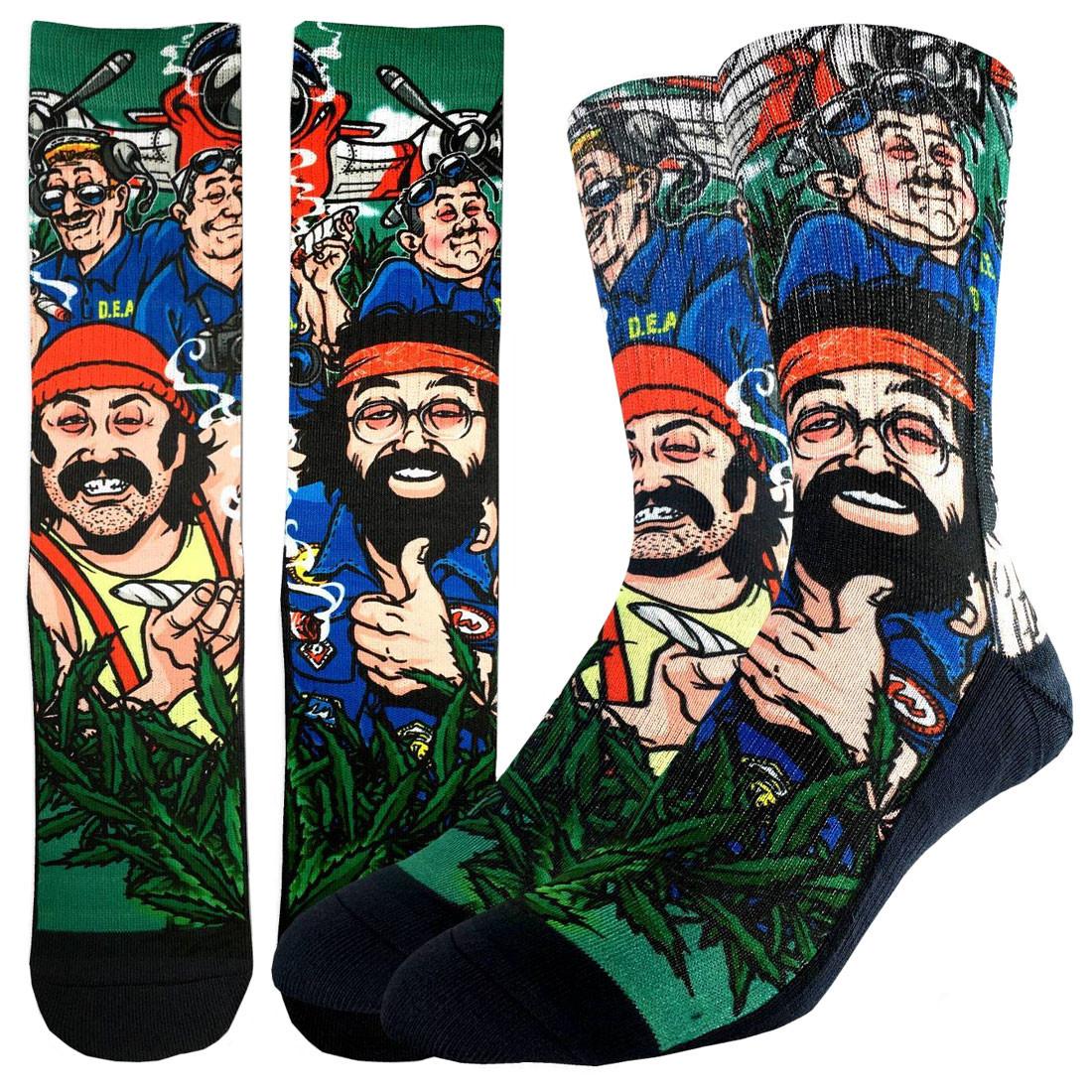 Men's Crew Socks Cheech & Chong DEA