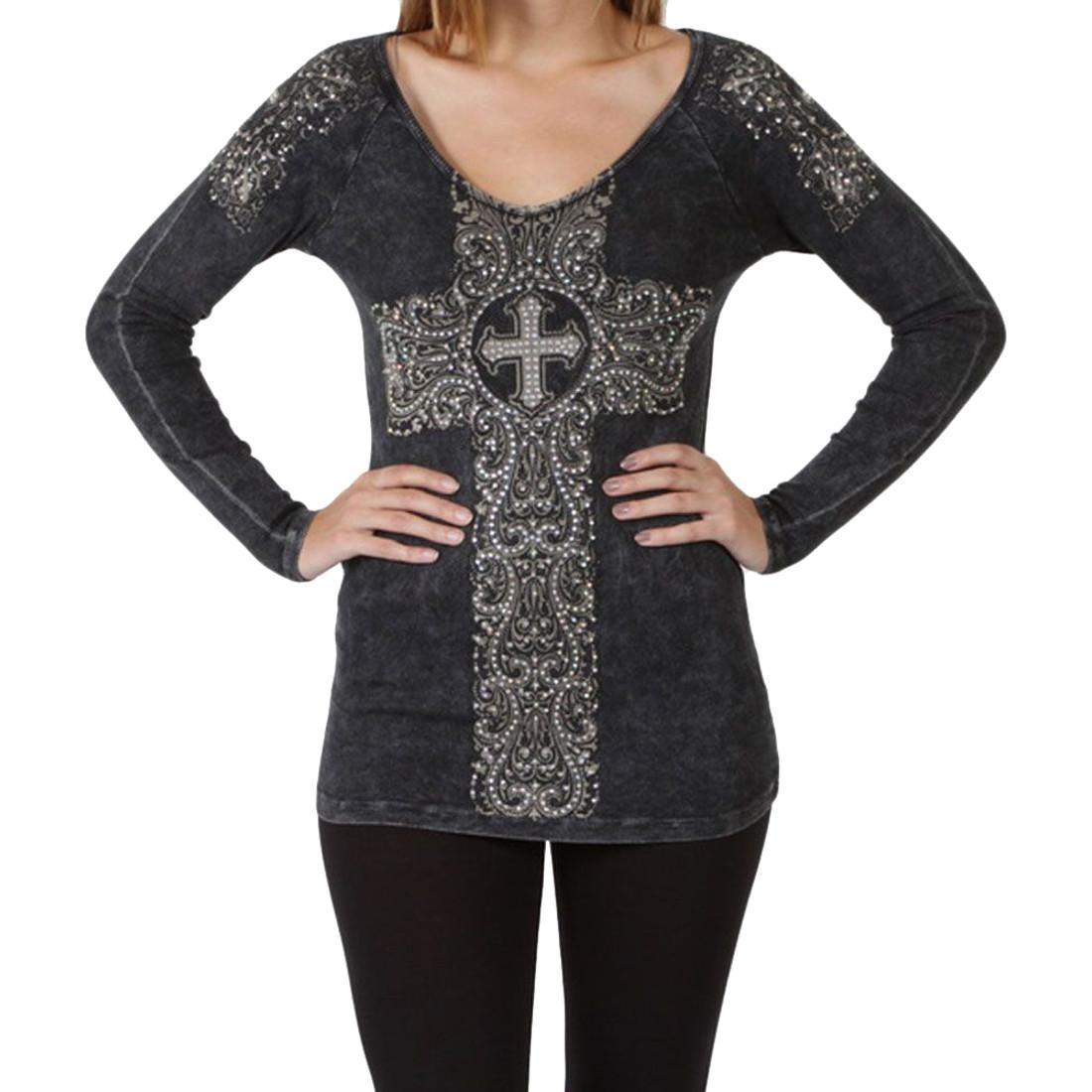 Vocal Apparel Black Long Sleeve Shirt