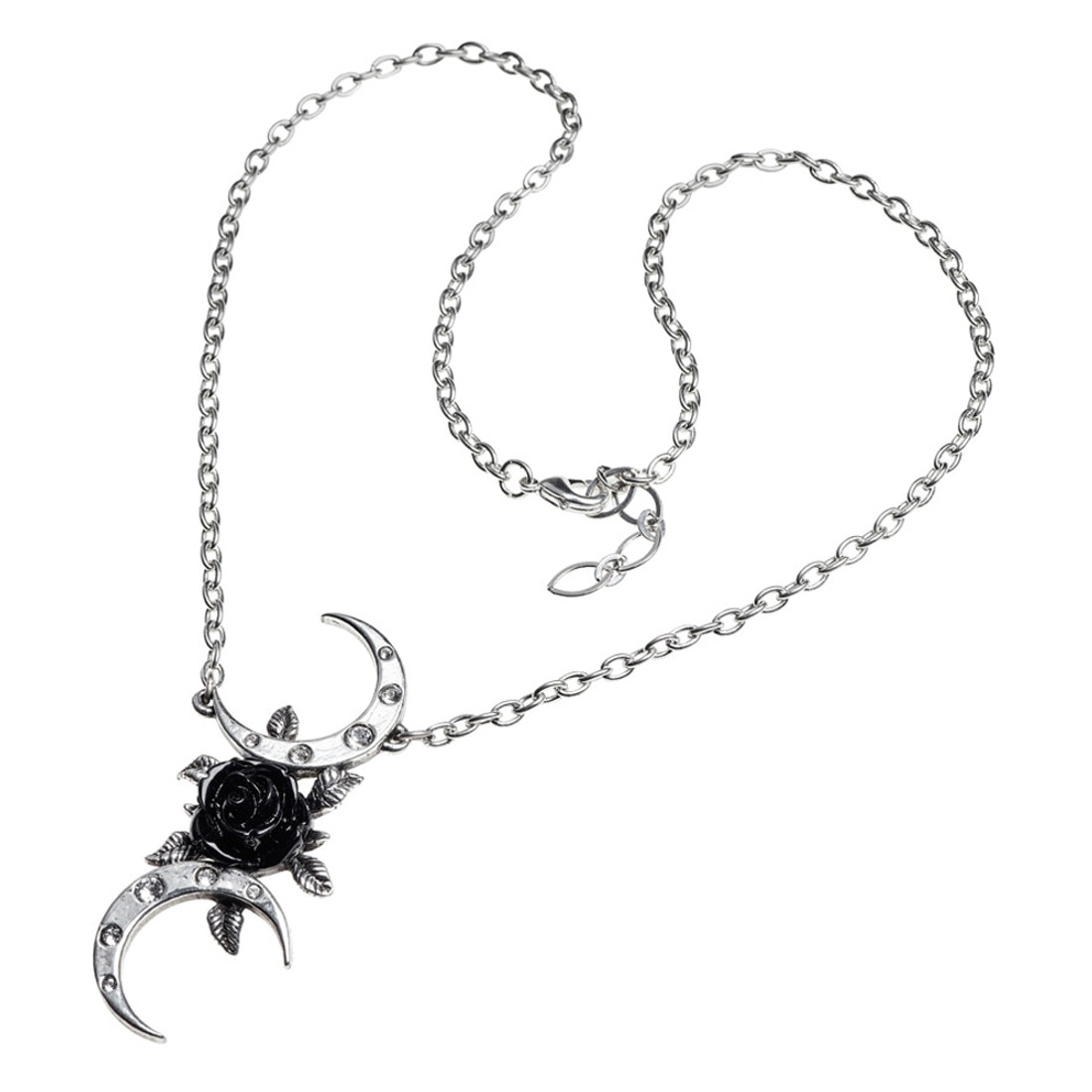 P870 - The Black Goddess Necklace full view