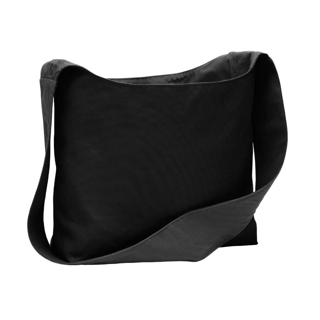 Blank picture of black sling bag.