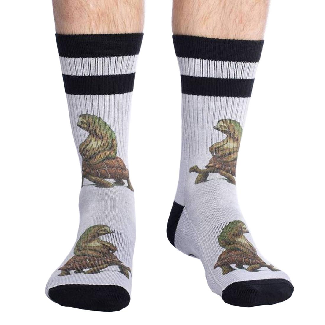The Tortoise and The Sloth Men's Crew Socks