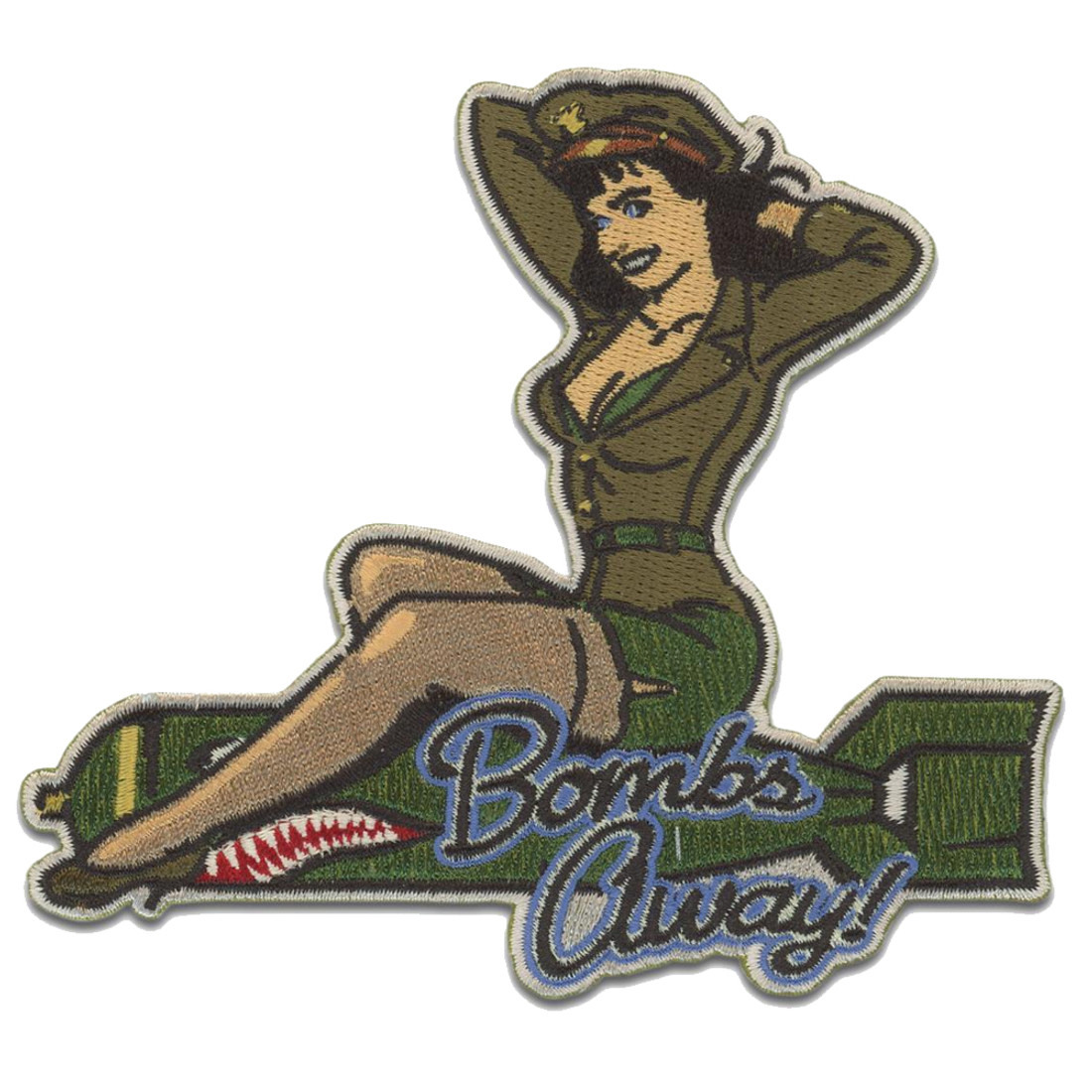 Bettie Page Bombs Away Patch