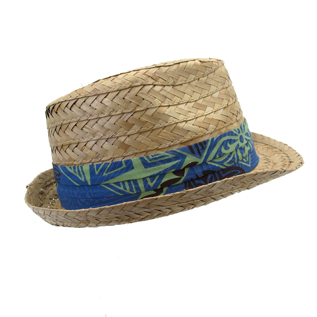 Natural Beach hat by Ole Headwear other side view.