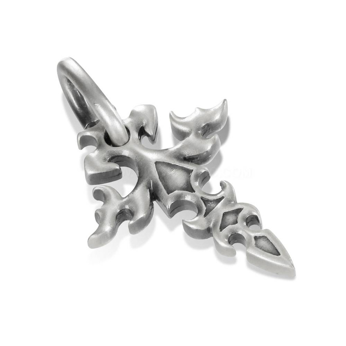 Bico Fitchee Cross pewter pendant.