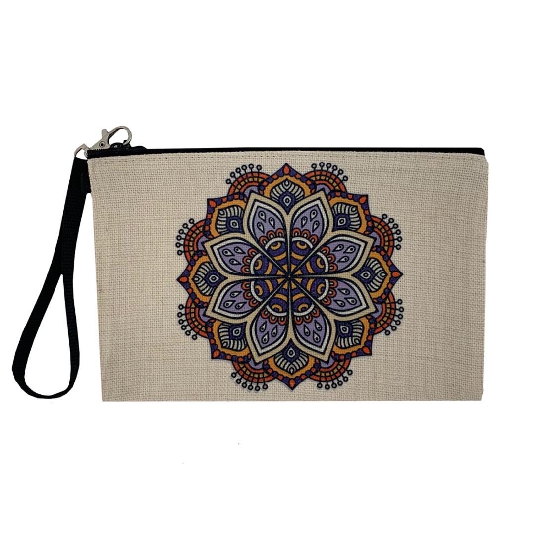 Mandala Make Up Cosmetic Bag