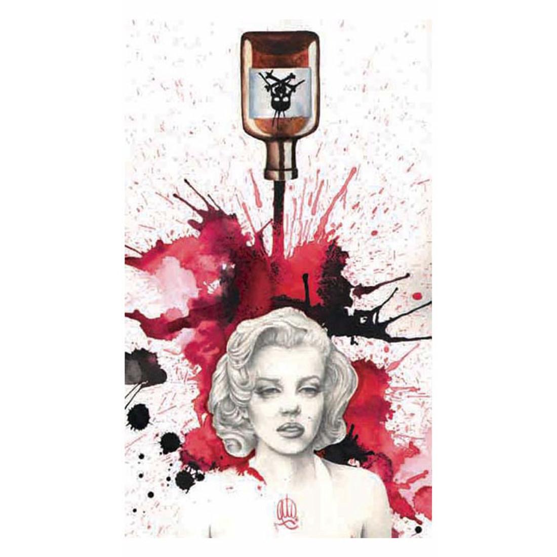 Christina Ramos Poisoned Marilyn Art Print