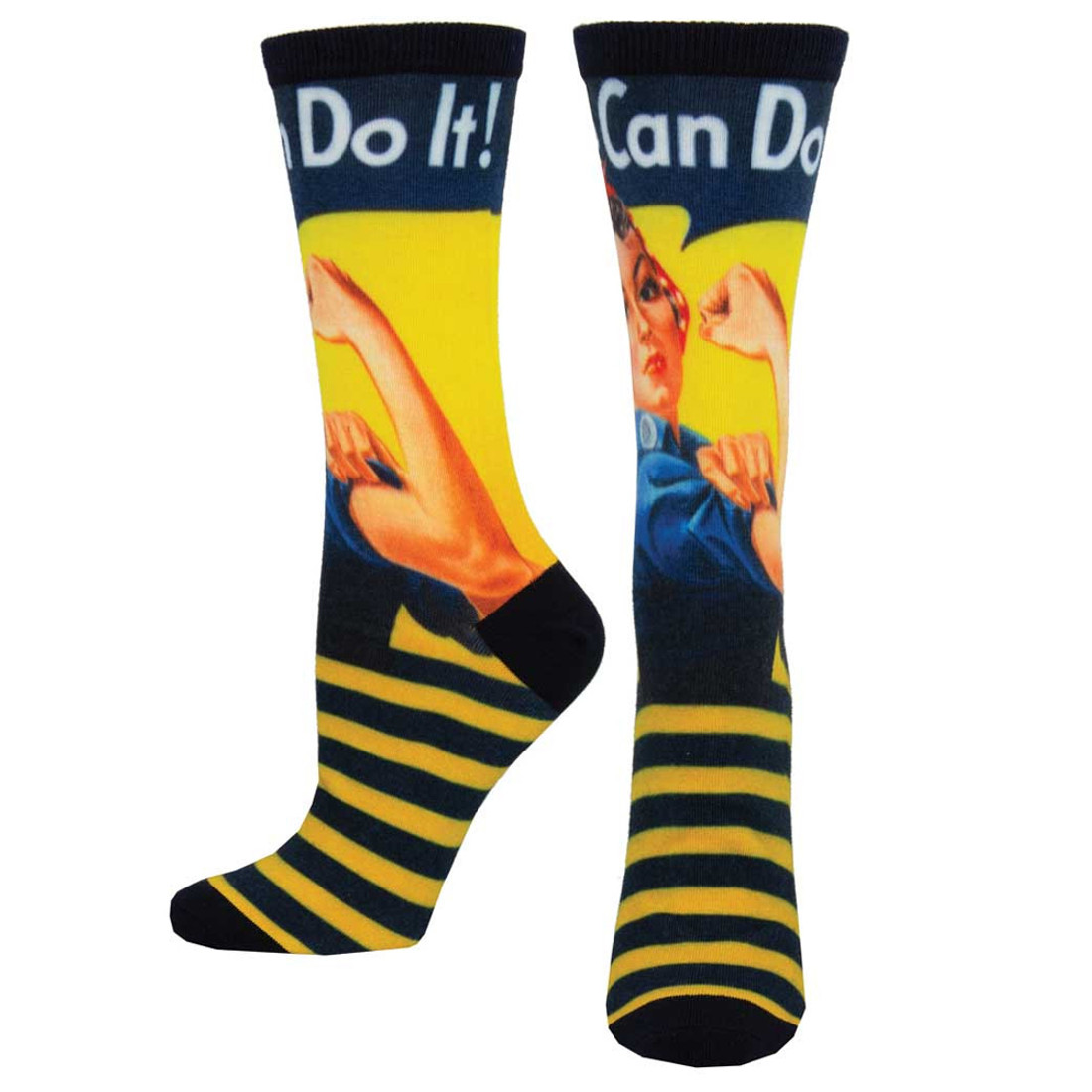 Rosie the Riveter Women's Crew Socks