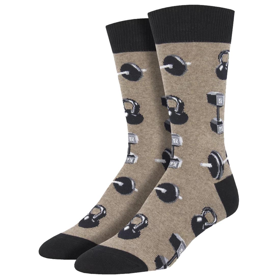Do You Even Lift Bro Men's Crew Socks