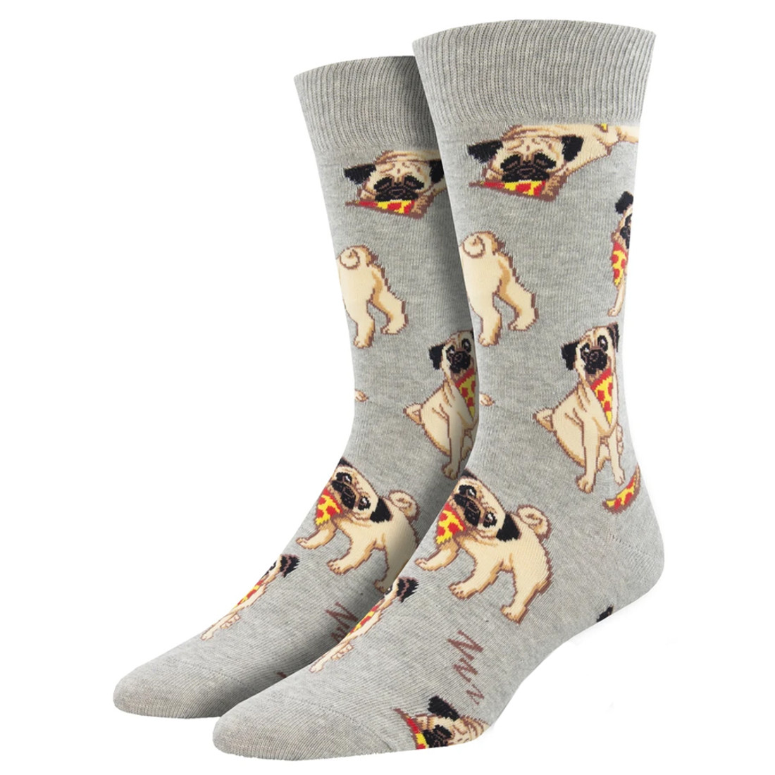 Pug Man's Best Friends Men's Crew Socks