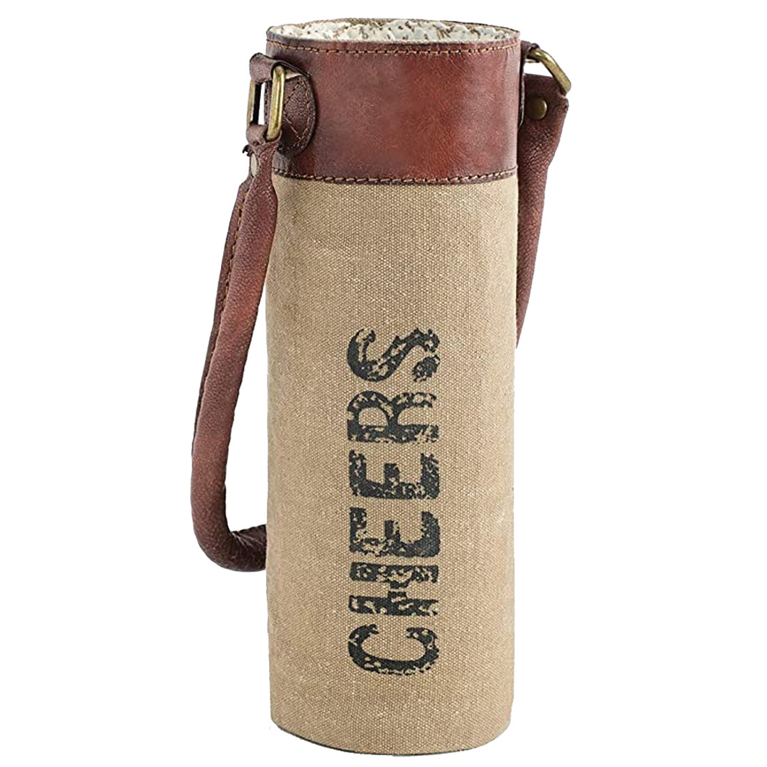 Cheers Canvas Wine Bag Carrier